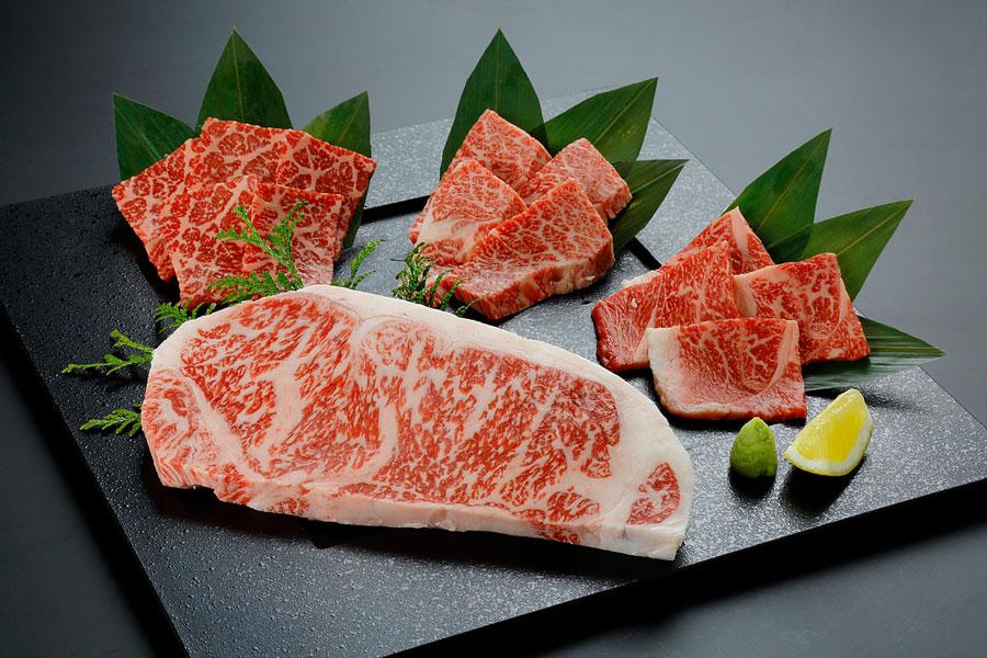 サーロインステーキ4種盛りセット11,300円