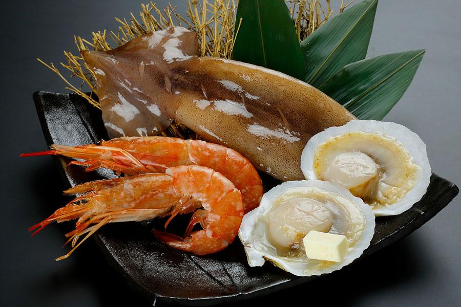 海鮮盛り1,250円